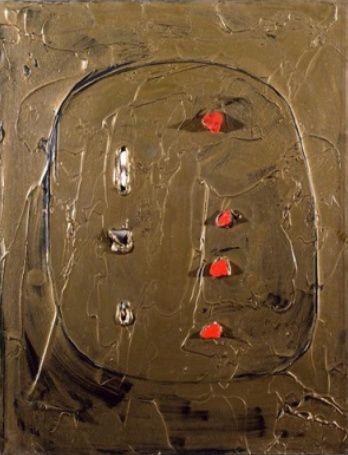 Lucio Fontana, Concetto spaziale, Venezia d'oro, 1961