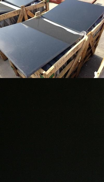 Floor and Wall Tiles 45800: Black Absolute Granite Tile 24X24x3 4 (2Cm) -> BUY IT NOW ONLY: $480 on eBay!