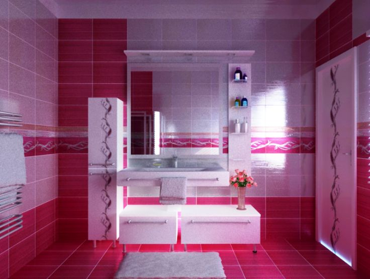 Cute girl bathrooms girly bathroom design cute for Cute bathroom ideas