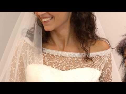 [Prima prova d'abito: la scelta di Rachele]  Oggi è un giorno importante. Rachele, la ragazza scelta da Elisabetta Polignano ai casting 'live' raccontati nelle puntate precedenti, sceglie il suo abito da sposa!