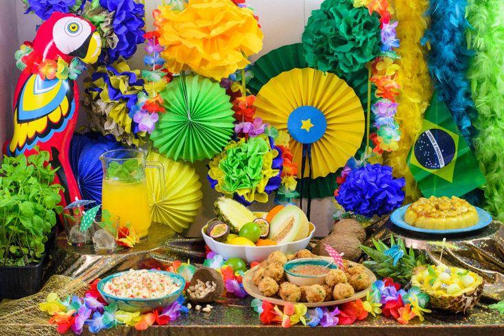 #TescoParty - Karnawał w Rio - Rio de Janeiro carnival - pomysł na imprezę - party idea                                                                                                                                                     More