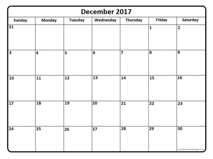 December Calendar 2017 PDF, December 2017 Calendar PDF, December Calendar PDF, December 2017 PDF Calendar, 2017 December Calendar PDF