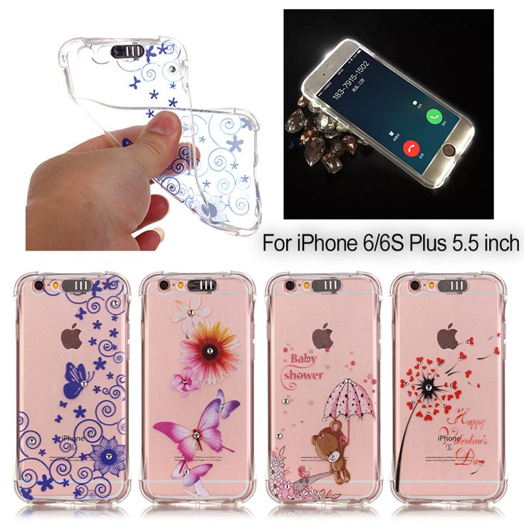 Find More Phone Bags & Cases Information about Lovely Design Rhinestone Case for iPhone 6 Crystal Soft TPU Mobile Phone Cases Back Cover Capa for iPhone 6 6s Case,High Quality case for macbook pro,China phone case for iphone Suppliers, Cheap phone case custom from TopArmor Store on Aliexpress.com