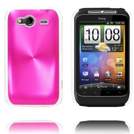 Aluminiums Shield (Pink) HTC Wildfire S Cover