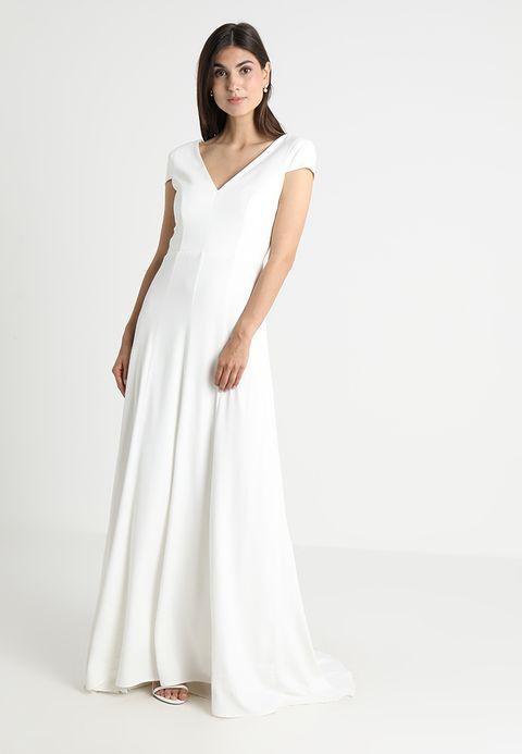 ba75c5d9a5d6 CAP SLEEVE DRESS - Festklänning - snow white