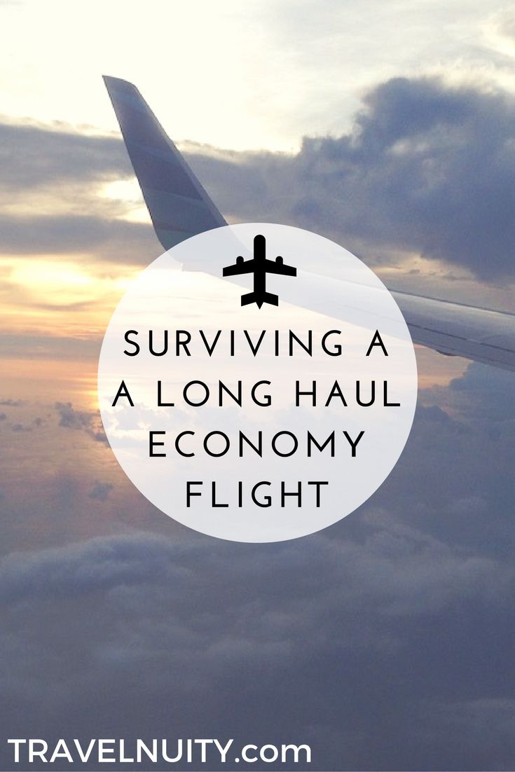 If you wish you could fly in business class, but instead you're stuck flying economy, try these tips to make your long-haul economy flight more bearable.