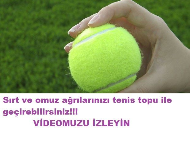 Tenis topuyla sırt ağrısı giderme.Sırt omuz ağrılarınızı tenis topuyla giderebilirsiniz videmuzu izleyerek öğrenebilirsiniz