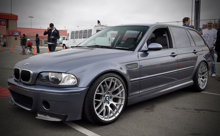 10 Awesome Reddit BMW Wagons No. 9: This E46 M3 wagon is show worthy - your's can be, too: http://www.eurosporttuning.com/bmw.html