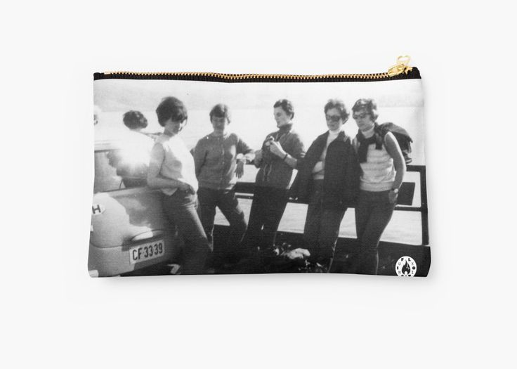 """""""Crossing via ferry"""" pouch by Fluxionist on Redbubble"""
