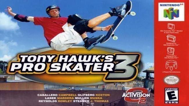 TONY HAWK'S PRO SKATER 3 N64 ROM DOWNLOAD (USA) - https://www.ziperto.com/tony-hawks-pro-skater-3-n64-rom/