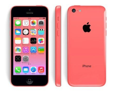"Apple iPhone 5C - Smartphone libre iOS (pantalla 4"", cámara 8 Mp, 16 GB, Dual-Core 1.3 GHz), rosa - Electrónica - Amazon.es"