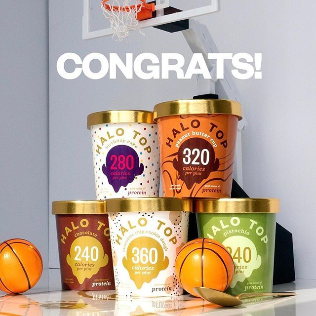 "👏🏼SLOW CLAP👏🏼 After an exciting (and long) journey, March Madness has come to an end. Huge congratulations to Siicmansiin & Espn56008015 for taking the big ""W"" with the closest bracket picks!  Shoot us an e-mail to info@halotop.com to claim your prize!"