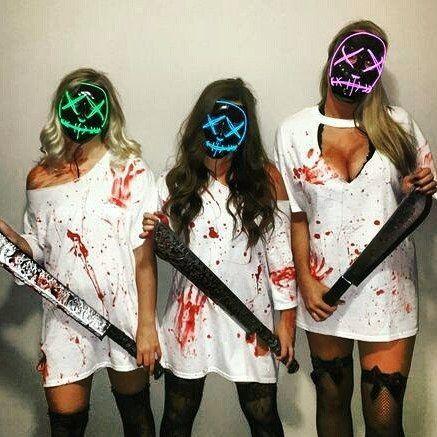 Light Up Funny Masks LED Halloween Mask The Purge Election Year