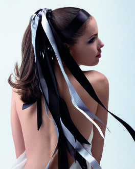 #moodboard #inspiration #hair #ribbons #girl #woman #fashion #brunette #black #white #deauville