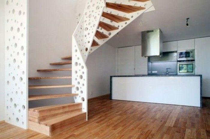 M s de 25 ideas incre bles sobre escalones de madera en for Escalera aluminio pequena