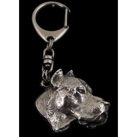 Keyring made of silver hallmark 925