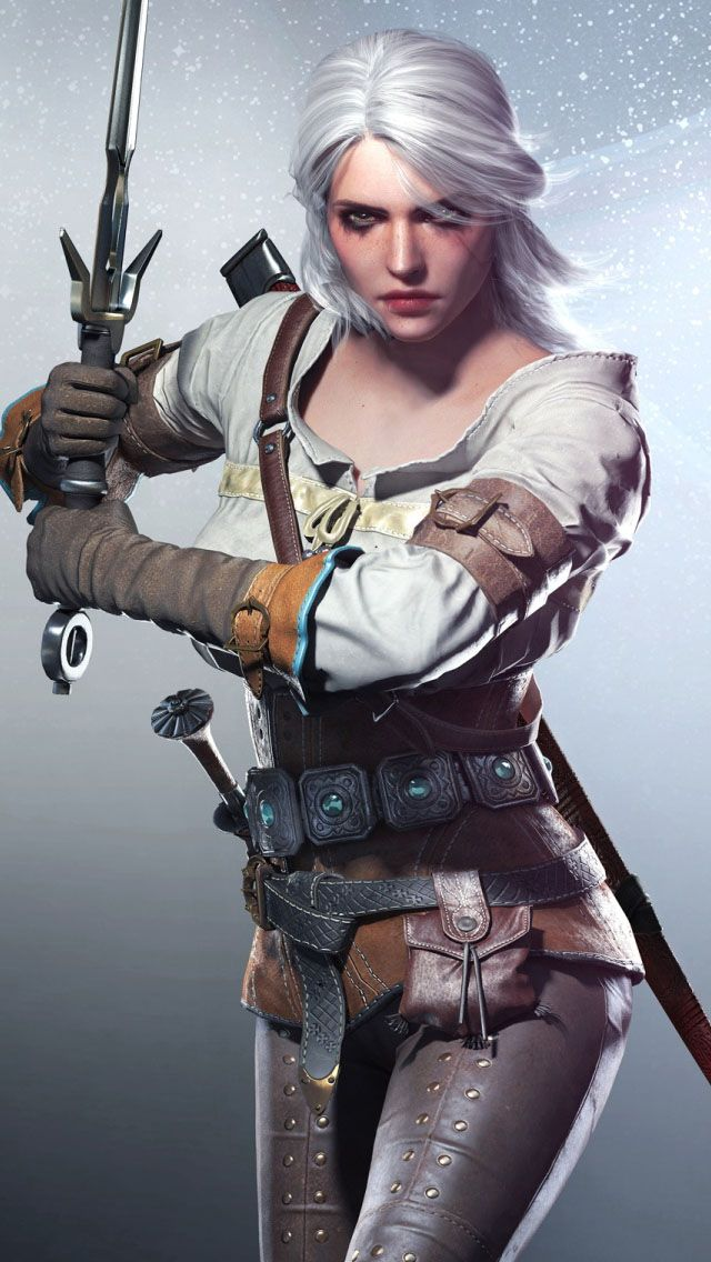 Ciri confirmed as the Witcher 3's second playable character - Save/Continue