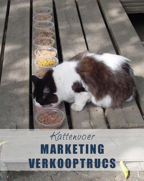 #Kattenvoer: Marketing en verkooptrucs. www.voervoorkatten.nl