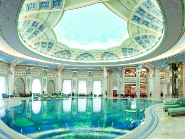 71 best luxurious indoor pools images on pinterest for Arabian hotel