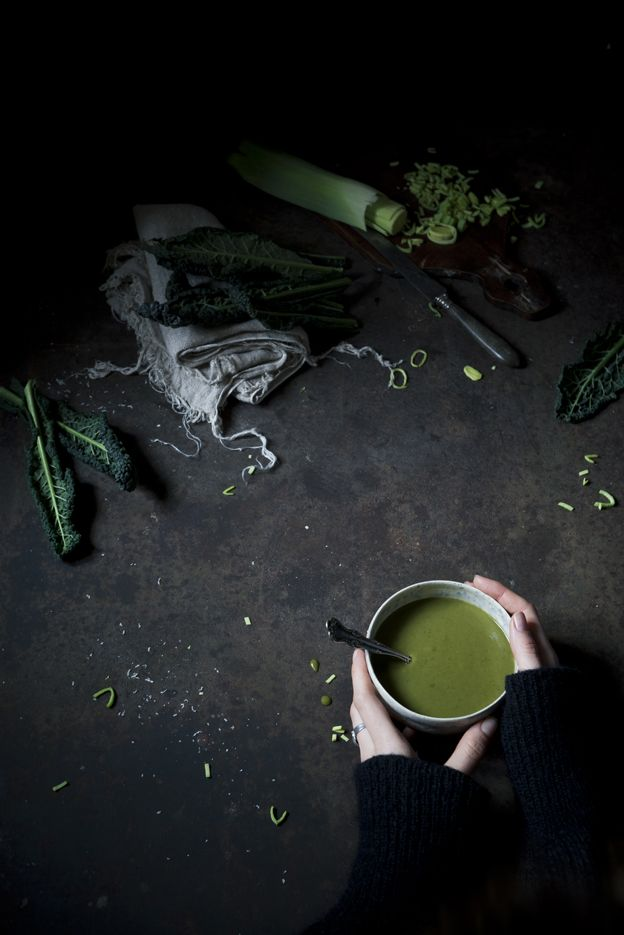 The Freaky Table meets Hortus | A freaky hortusized green soup...