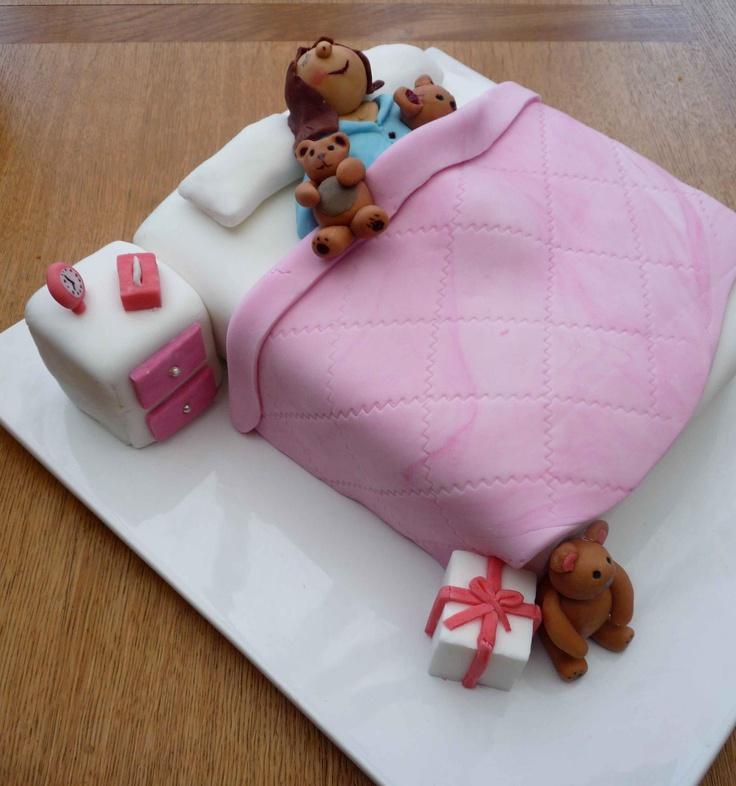 Pyjama party cake!