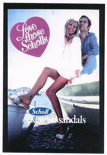 ad #drscholl #wooden #sandal | Dr. Scholl's Long Ago ...