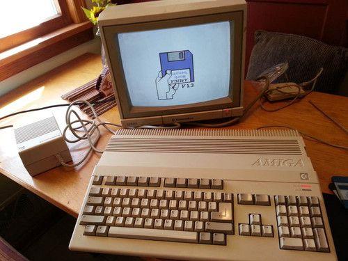 Commodore Amiga 500 Computer