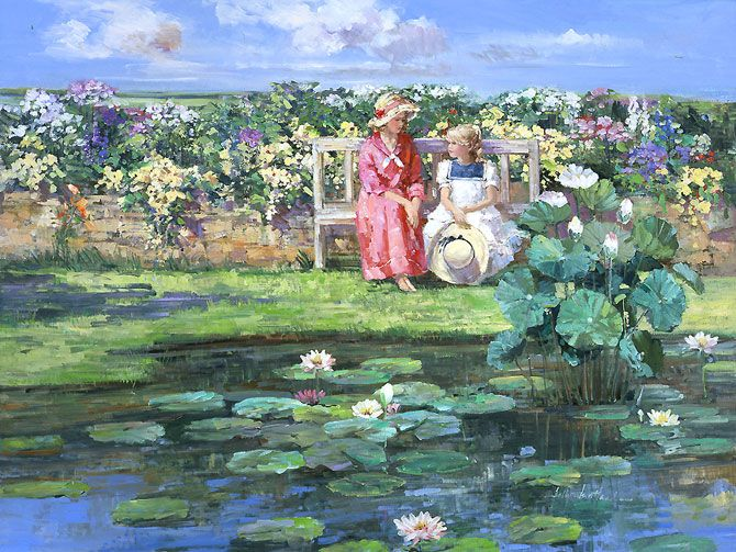 9 Best Images About Favorite Garden Paintings On Pinterest