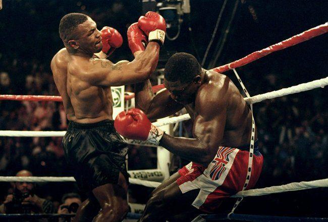 Tyson KO Uppercut