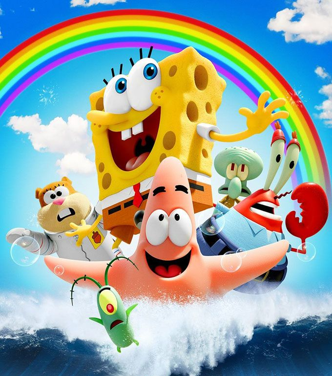 Spongebob Sponge Out Of Water. I just watched the movie!! It was amazing!