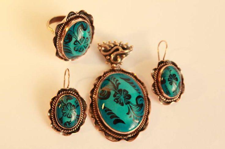 Turkish Tile Art- earring
