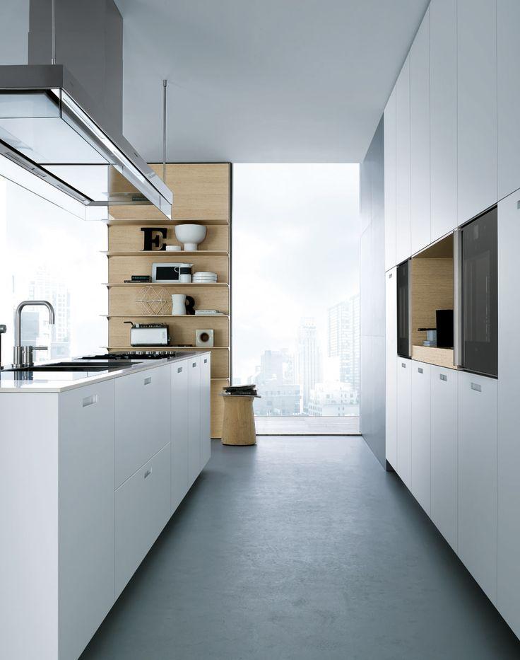 Varenna kitchen..Get inspired byCOCOON.com for Contemporary Minimalist Modern Luxury Design Bathrooms & Kitchens to live in &.. COCOON! Modern kitchen design ideas by #COCOON Dutch designer brand.