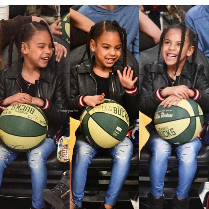 Blue Ivy Carter at the 67th NBA All-Star Game in Los Angeles California 18th February 2018