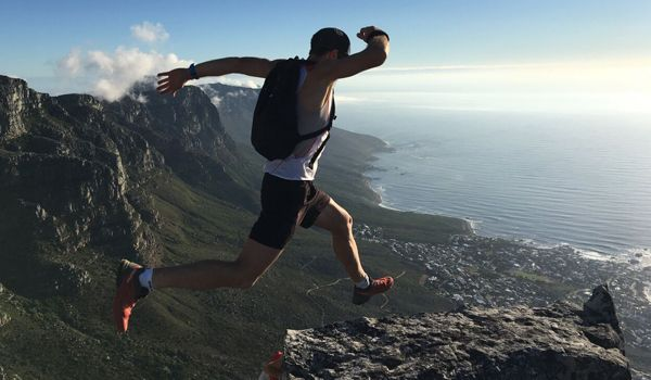 How Christiaan Greyling turned a week on Table Mountain into a Starting Chance  #southafrica #adventure #trail
