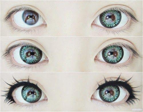 Korean Big Eye Circle Lenses: Korean Skin Care & Makeup - More in www.uniqso.com: 3 Hot Selling Gyaru Circle Lenses