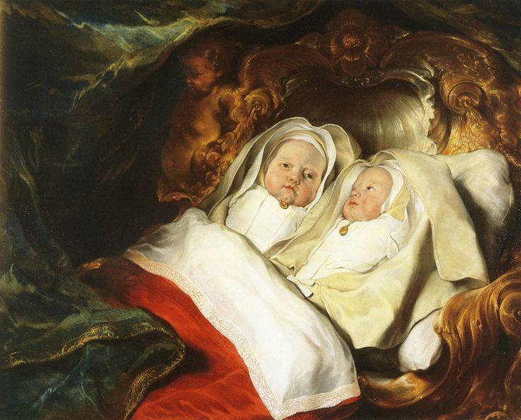 Salomon de Bray, c. 1646 - - - Double Portrait of the Twins Clara and Albert de Bray