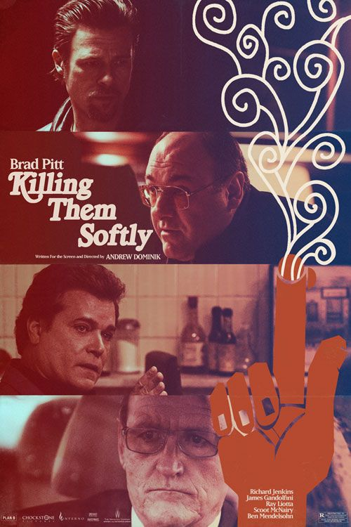 Are the 6 New 'Killing Them Softly' Posters Among the Best of the Year? We Think So.