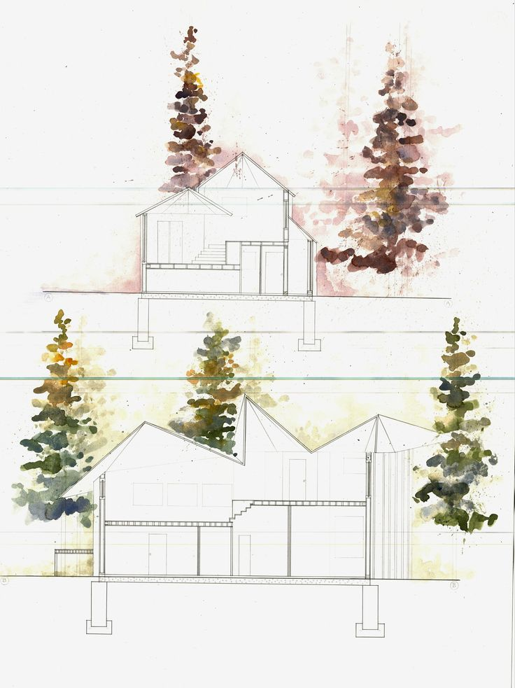 Architecture Drawing Of Trees 123 best architectural drawing images on pinterest | architecture