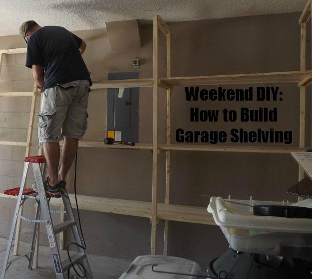 DIY: How to Build Garage Shelving