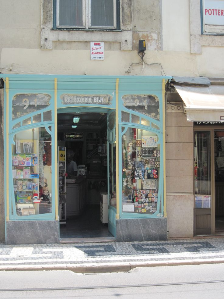 Liberty button shop in Rua Conceiçao in Baixa, Lisbon.  fancy for a pink butterfly button or a mauve flowershaped one?  That is the place