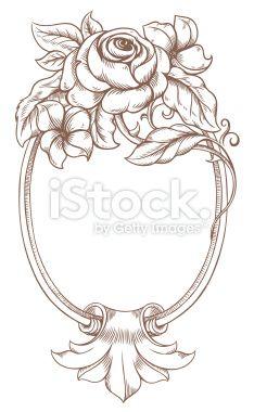 Frame Baroque Royalty Free Stock Vector Art Illustration
