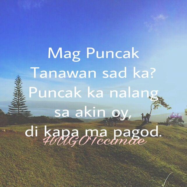 San ka na? Here na me ☺️ #hugot #hugotlines #banat #banatlines #itsmorefuninthephilippines #philippines #summer #summer2017 #adventure #adventure2017 #sunshine #sunny #sunnyday #puncaktanawan #sibulan #dumaguete #dumagetme