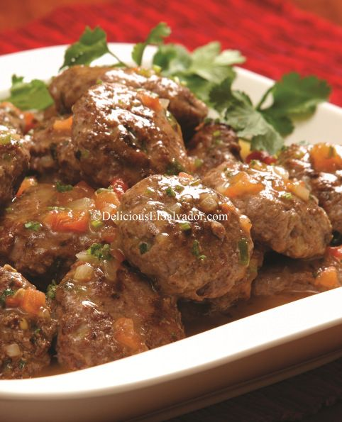 Salvadorian Meat Patties Recipes Pinterest Salsa Gravy And Beef