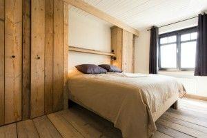 Slaapkamer met kingsize bed Meerlaan 21 Vakantiewoning huren 12 personen | ZaligAanZee.be