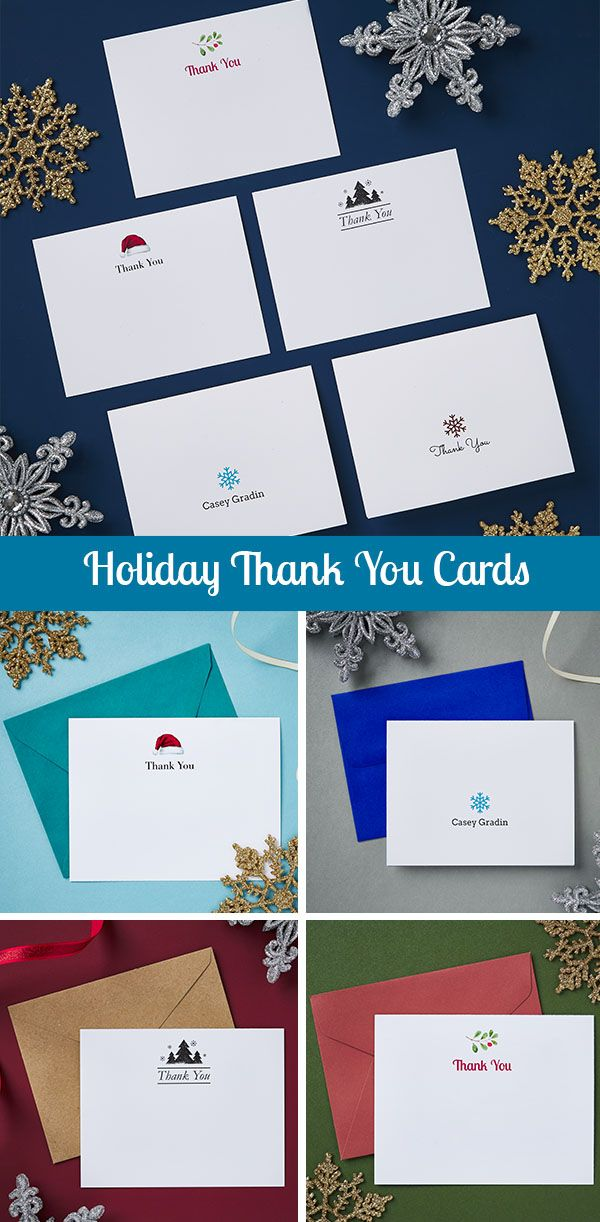 Holiday Thank You Cards Thank You Cards Templates Printable Free Cards