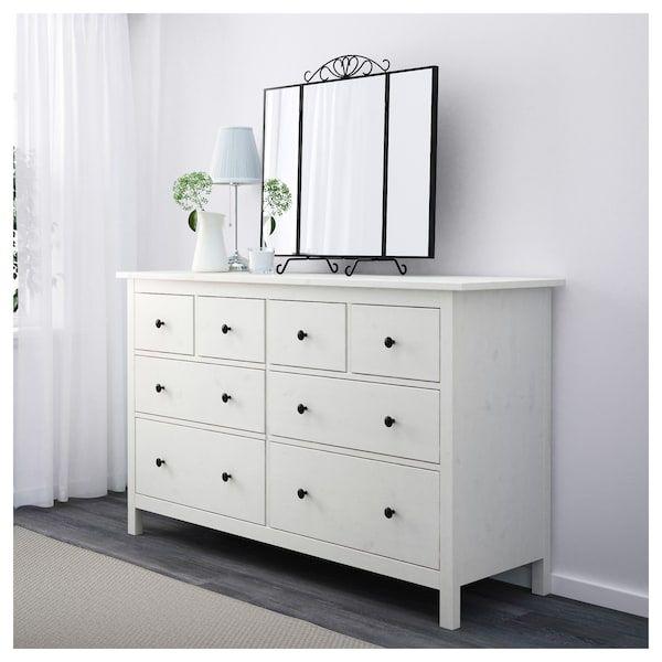 8 Drawer Dresser White Stain 63x37 3 4 Bedroom Chest