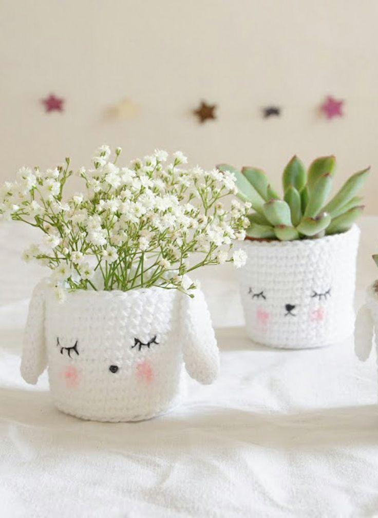 Crochet pot holder pattern