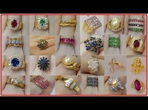 Women Latest Gold Ring Designs | Simple Gold Ring Designs Collections 2017 | Daily Wear Gold Rings - YouTube
