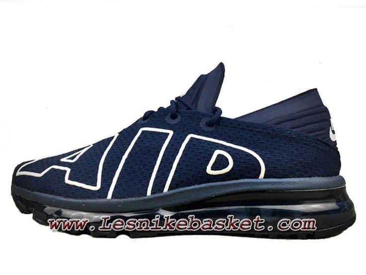 Nike Air Max Flair Bleu Blanc 942236_ID7 Chaussures Nike pas cher Pour homme
