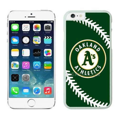 http://www.xjersey.com/oakland-athletics-iphone-6-cases-white.html OAKLAND ATHLETICS IPHONE 6 CASES WHITE Only $21.00 , Free Shipping!